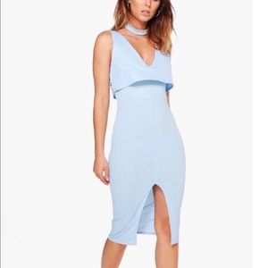 brand new with tags light blue dress!